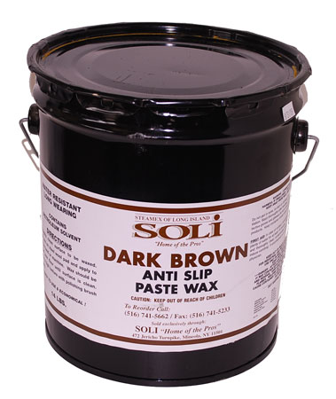 Brown Anti Slip Paste Wax