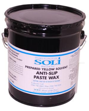 Yellow Anti Slip Paste Wax