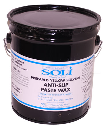 Yellow Anti Slip Paste Wax