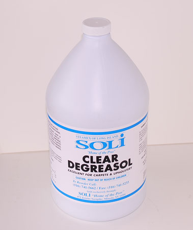 fabric degreaser