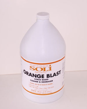 Orange all-purpose cleaner