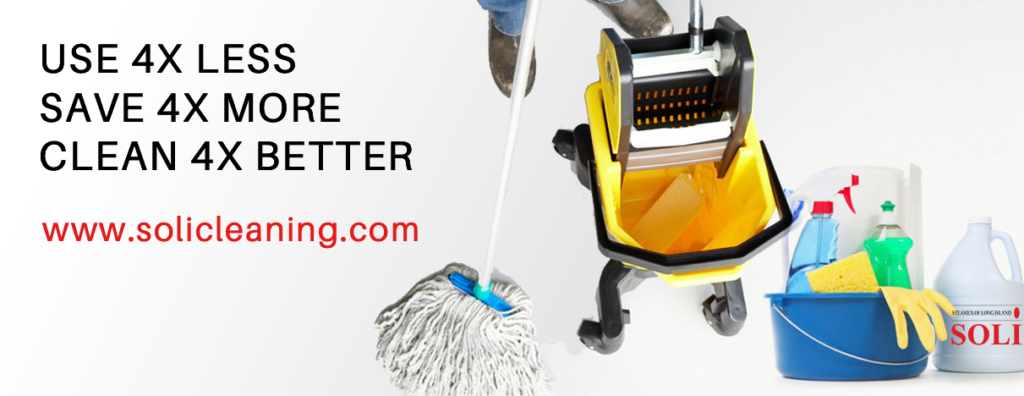 commercial cleaning chemicals by SOLI Cleaning